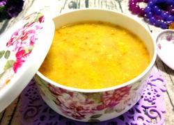 苦荞玉米渣粥