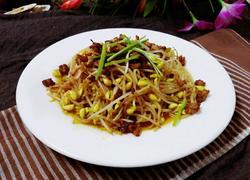 肉末豆芽菜