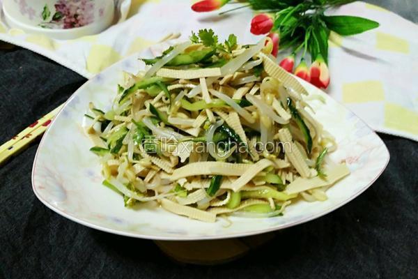 豆芽凉菜(无辣版)