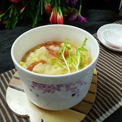 木须柿子疙瘩汤