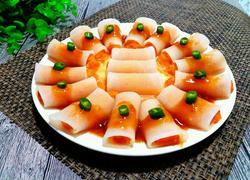 鱼肉萝卜卷