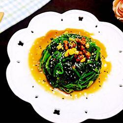 陈醋拌菠菜