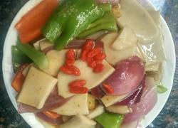 蚝油杏鲍菇炒洋葱