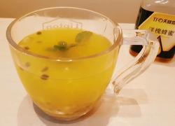 百香果蜂蜜薄荷茶