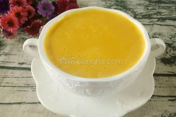牛奶南瓜浓汤