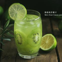 补充维C的猕猴桃柠檬汁