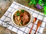 牛肉蘑菇汤面的做法[图]