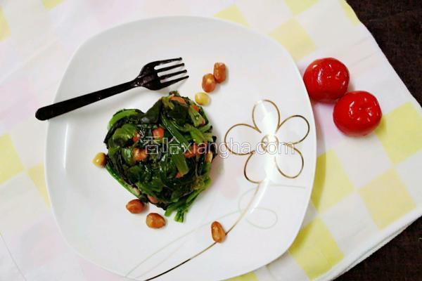 蚝油菠菜凉拌