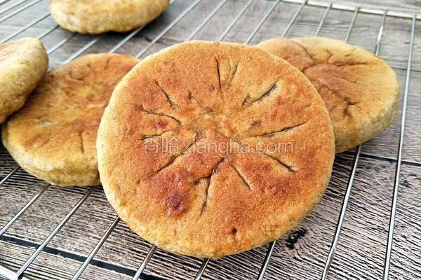 荞麦红糖发面饼