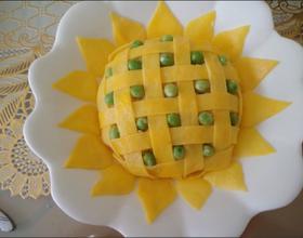 向日葵肉丁炒饭