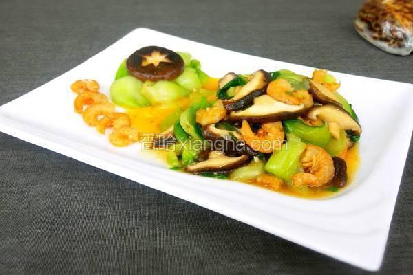 海米香菇油菜
