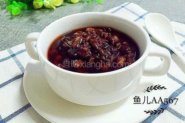 红小豆紫米粥