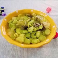 酸菜胡豆瓣汤的做法[图]