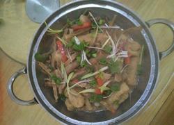 干竹笋炖肉