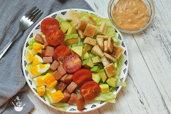 均衡营养‖五彩沙拉遇上彩虹的做法