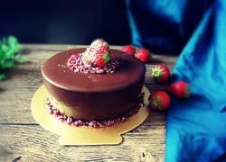 fluff巧克力慕斯蛋糕