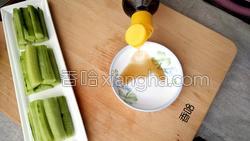 麻酱黄瓜的做法图解6