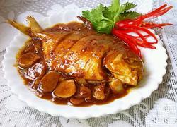 红烧金鲳鱼