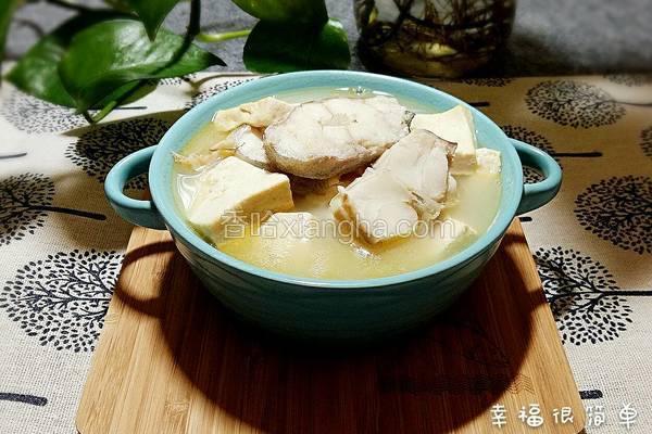 鳕鱼豆腐汤