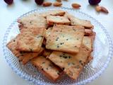 黑芝麻咸香饼干的做法[图]