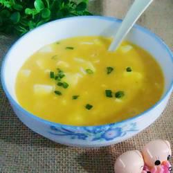 咸蛋黄煲豆腐