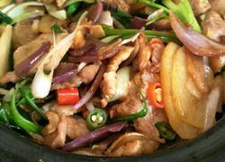 干锅土豆回锅肉