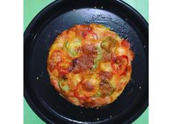 素火腿披萨