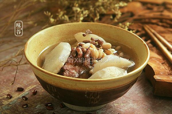 清热祛湿沙葛猪骨汤