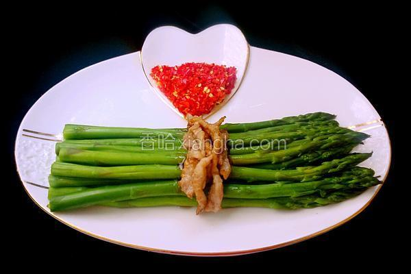 芦笋肉丝爽口菜