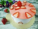 6寸草莓慕斯蛋糕的做法[图]