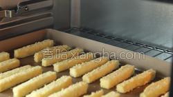椰蓉烤红薯条的做法图解12