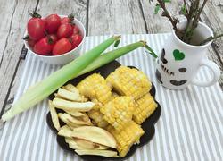 烤玉米地瓜条