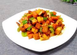 辣炒莲藕豆干丁