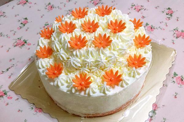 双层奶油蛋糕