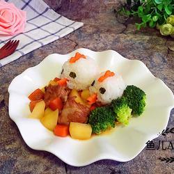 (排骨炖土豆