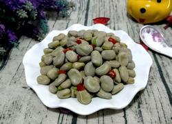 煮五香蚕豆