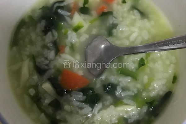 胡萝卜山药菠菜粥