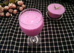 紫甘蓝奶昔