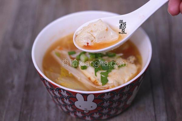 开胃又营养de番茄豆腐汤