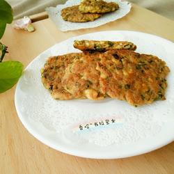 香椿豆腐肉饼