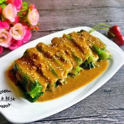 芝麻酱油麦菜的做法[图]