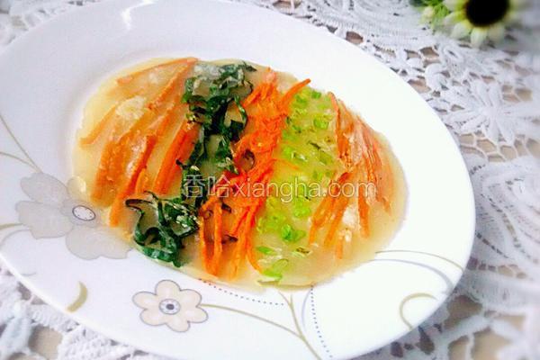 五彩蔬菜饼