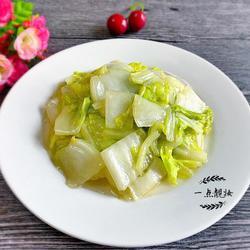 清炒大白菜