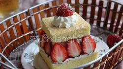 草莓蛋糕的做法图解32