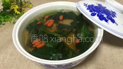 猪肝菠菜汤的做法图解25