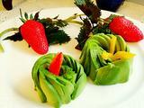 牛油果玫瑰花#甜点的做法[图]