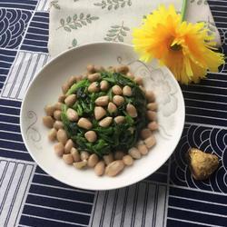 花生拌菠菜的做法[图]