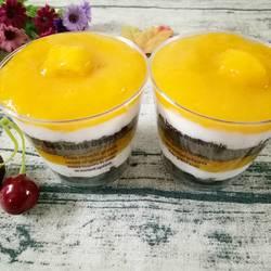 芒果酸奶木糠杯