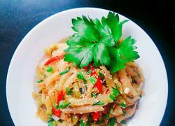 红椒芝麻炒榨菜