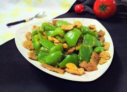 大辣椒炒肉片